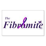The Fibromite.com Rectangle Sticker 10 pk)