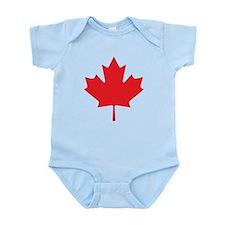 Canadian Maple Leaf Infant Bodysuit