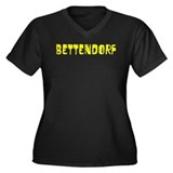 Bettendorf Faded (Gold) Women's Plus Size V-Neck D