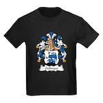 Oellinger Family Crest Kids Dark T-Shirt