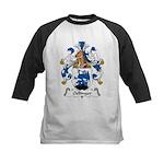Oellinger Family Crest Kids Baseball Jersey