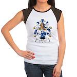 Oellinger Family Crest Women's Cap Sleeve T-Shirt