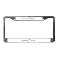 Pamela's Kitchen License Plate Frame