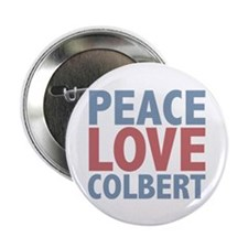 "Peace Love Stephen Colbert 2.25"" Button (10 pack)"