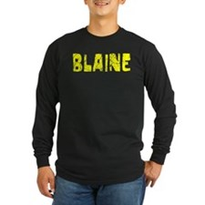 Blaine Faded (Gold) T