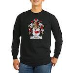 Nitsch Family Crest Long Sleeve Dark T-Shirt