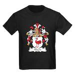 Nitsch Family Crest Kids Dark T-Shirt