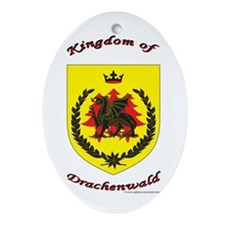 Drachenwald Oval Ornament