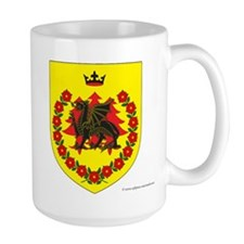 Queen of Drachenwald Large Mug