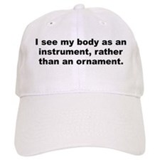 Cute Body humor Baseball Cap