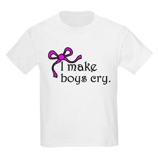 I make boys cry T-Shirt