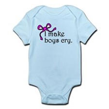 I make boys cry Infant Bodysuit