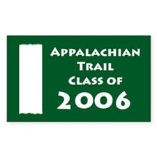 Appalachian Trail Class Of 2006 Decal