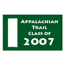 Appalachian Trail Class of 2007 Decal