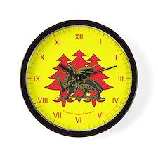 Drachenwald Populace Wall Clock