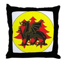 Drachenwald Populace Throw Pillow