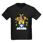Nebel Family Crest Kids Dark T-Shirt