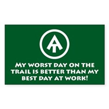 """At """"Worst Day On Trail"""" Decal"""
