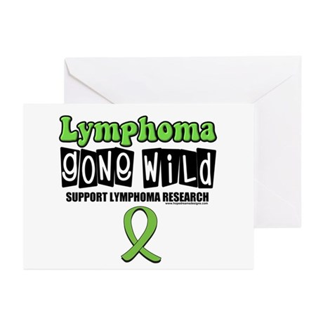 Lymphoma Gone Wild Greeting Cards (Pk of 10)