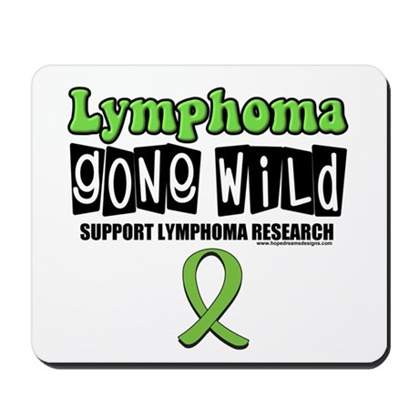 Lymphoma Gone Wild Mousepad