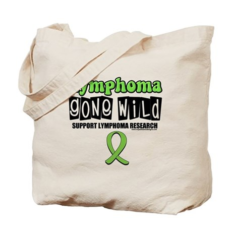 Lymphoma Gone Wild Tote Bag