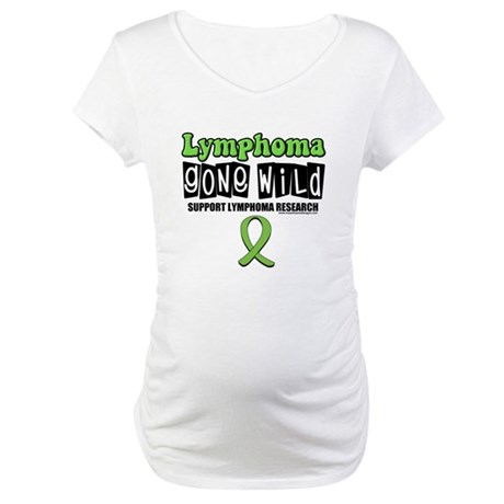 Lymphoma Gone Wild Maternity T-Shirt
