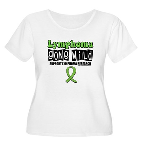 Lymphoma Gone Wild Women's Plus Size Scoop Neck T-