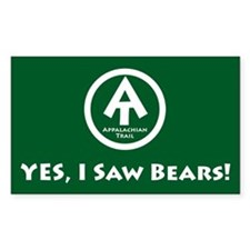 "Appalachian Trail ""I Saw Bears"" Decal"