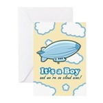 It's a Boy Birth Announcement Cards (Pk of 20)