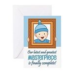 Cute Baby Boy Birth Announcement Cards (Pk of 20)
