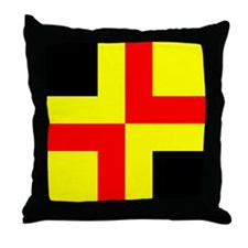 Drachenwald Ensign Throw Pillow