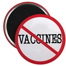 "Anti Vaccine 2.25"" Magnet (100 pack)"