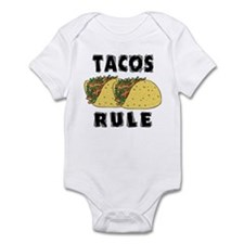 Tacos Rule Infant Bodysuit