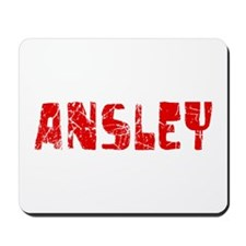 Ansley Faded (Red) Mousepad