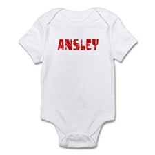 Ansley Faded (Red) Infant Bodysuit