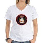Seekers Flight Test Women's V-Neck T-Shirt