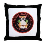 Seekers Flight Test Throw Pillow