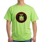 Seekers Flight Test Green T-Shirt