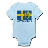Sweden Flag Onesie