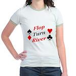 The Ultimate Texas Hold'Em Poker Jr. Ringer T-Shi