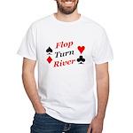 The Ultimate Texas Hold'Em Poker White T-Shirt