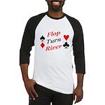 The Ultimate Texas Hold'Em Poker Baseball Jersey