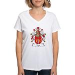 Nass Family Crest Women's V-Neck T-Shirt