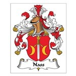 Nass Family Crest Small Poster