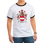 Nannen Family Crest Ringer T
