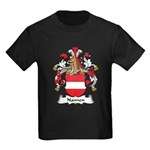 Nannen Family Crest Kids Dark T-Shirt