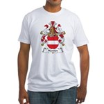Nannen Family Crest Fitted T-Shirt