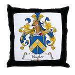 Nagler Family Crest Throw Pillow