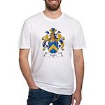 Nagler Family Crest Fitted T-Shirt