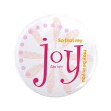 "Joy 3.5"" Button"